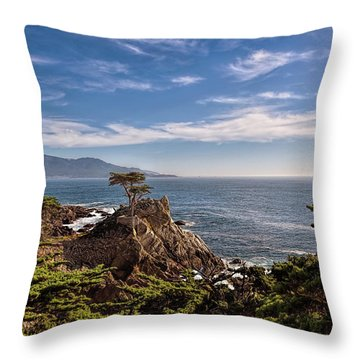 Standing Watch Throw Pillow by Gina Savage