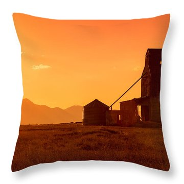 Stanford Sunset Throw Pillow