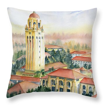 Stanford University California Throw Pillow