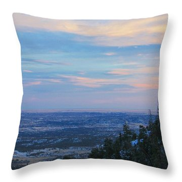 Stanley Canyon Hike Throw Pillow