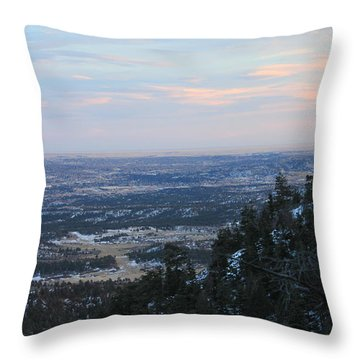 Stanley Canyon View Throw Pillow