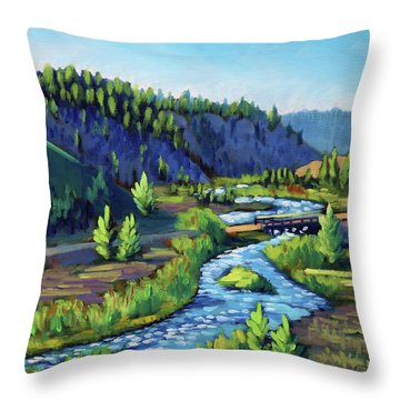 Stanley Creek Throw Pillow