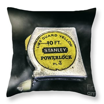 Throw Pillow featuring the photograph Stanley Powerlock  by Bitter Buffalo Photography