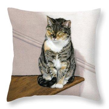 Stanzie Cat Throw Pillow