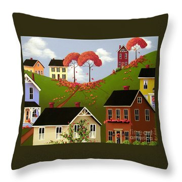 Staplehill  Throw Pillow by Catherine Holman