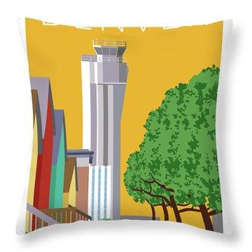 Stapleton Summer Throw Pillow
