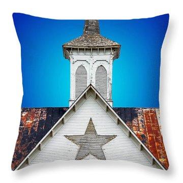 Star Barn 2 Throw Pillow