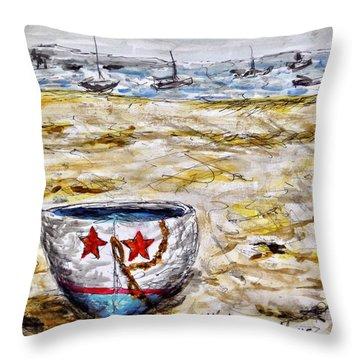 Star Boat Throw Pillow