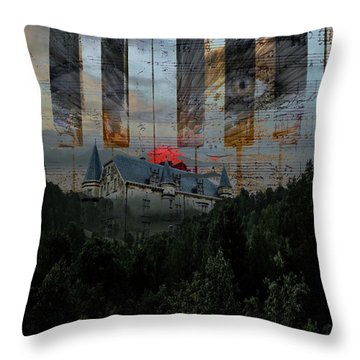 Star Castle Throw Pillow
