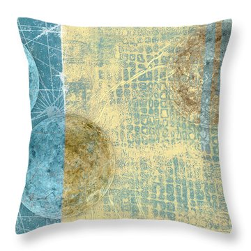 Throw Pillow featuring the photograph Star Chart Landing Pattern by Carol Leigh