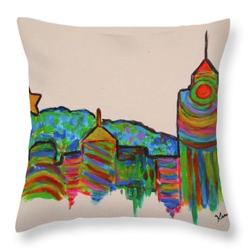 Star City Play Throw Pillow
