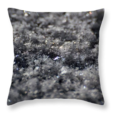 Star Crystal Throw Pillow
