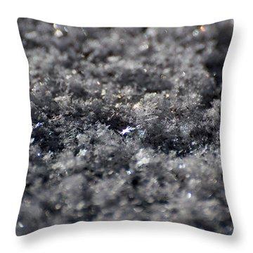 Star Crystal Throw Pillow