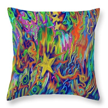 Star E Nite Throw Pillow