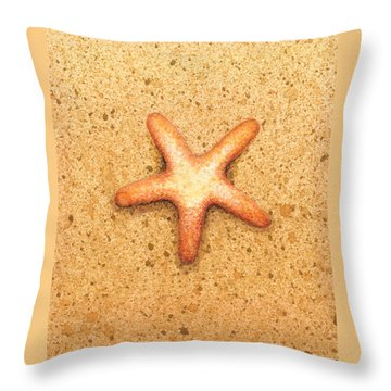 Star Fish Throw Pillow