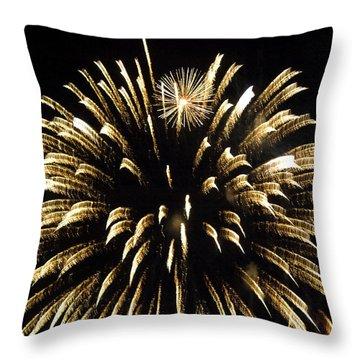 Throw Pillow featuring the photograph Star Flower by Tara Lynn