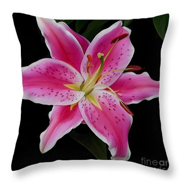 Star Gazed Throw Pillow