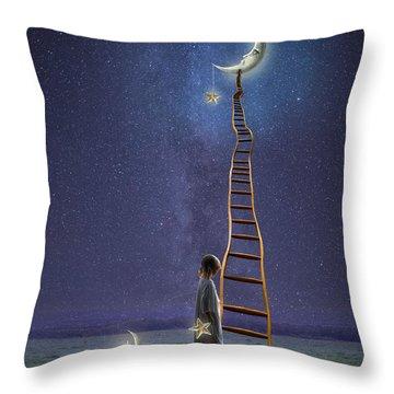 Star Keeper Throw Pillow
