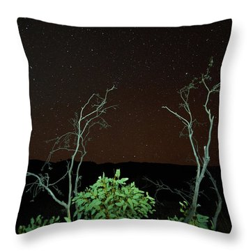 Star Light Star Bright Throw Pillow by Paul Svensen