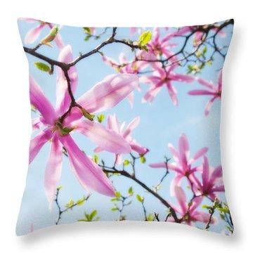 Star Magnolia 1 Throw Pillow