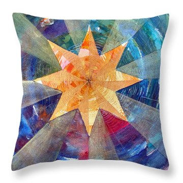 Star Mandala 1  Throw Pillow