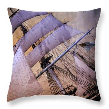 Star Of India San Diego 2 Throw Pillow