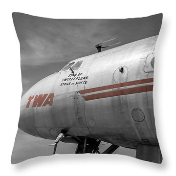 Star Of Switzerland Throw Pillow