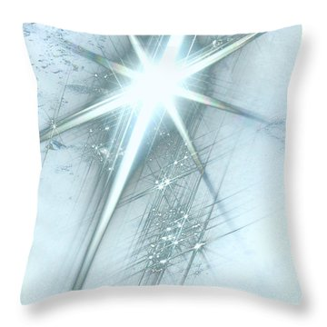 Star Of Wonder Throw Pillow by Ellen Henneke