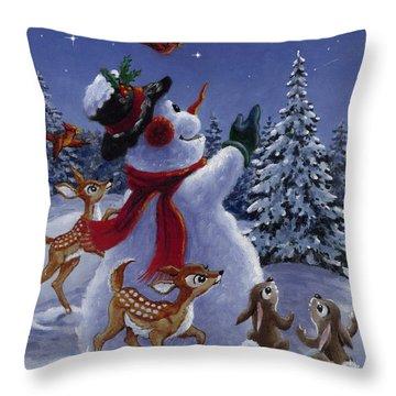 Star Of Wonder Throw Pillow