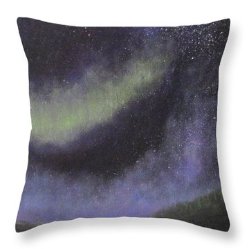 Star Path Throw Pillow