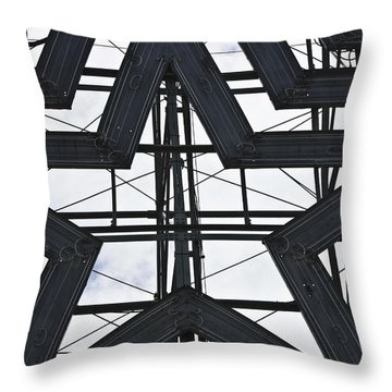 Star Power Roanoke Virginia Throw Pillow