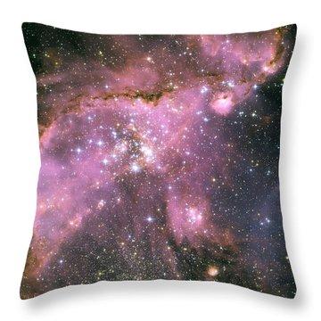 Star Shower Throw Pillow by Jennifer Rondinelli Reilly - Fine Art Photography