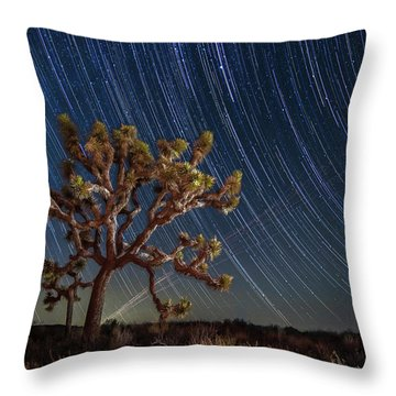 Star Spun Throw Pillow