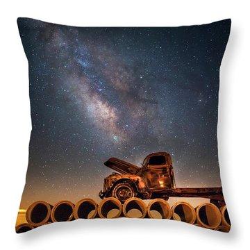Star Struck Truck  Throw Pillow