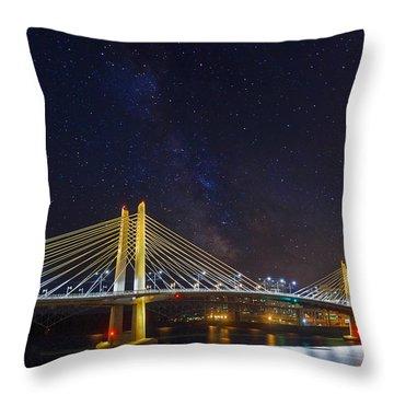 Star Trek Bridge Throw Pillow by David Gn