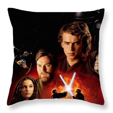 Star Wars Episode IIi - Revenge Of The Sith 2005 Throw Pillow