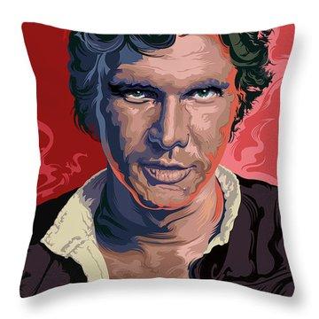 Star Wars Han Solo Pop Art Portrait Throw Pillow