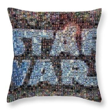 Star Wars Posters Mosaic Throw Pillow