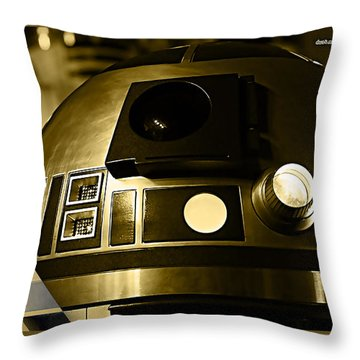 Star Wars R2d2 Collection Throw Pillow by Marvin Blaine