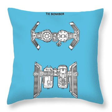 Star Wars - Spaceship Patent Throw Pillow