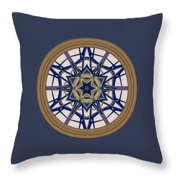 Star Window I Throw Pillow