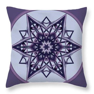 Star Window II Throw Pillow