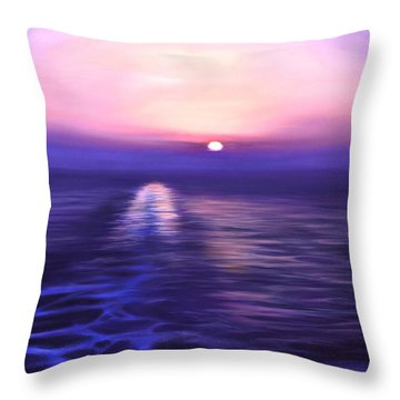 Starboard View Throw Pillow