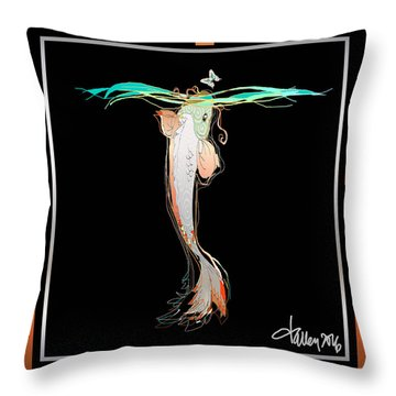 Starcrossed Lovers Throw Pillow