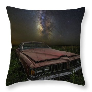 Stardust And Rust - Pontiac Throw Pillow