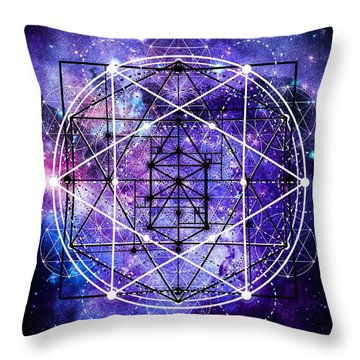 Throw Pillow featuring the digital art Stardust by Bee-Bee Deigner