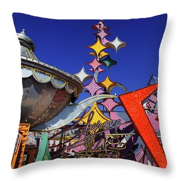Throw Pillow featuring the photograph Stardust by Skip Hunt