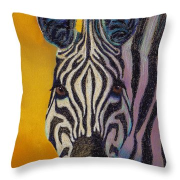 Stare Down Throw Pillow by Tracy L Teeter