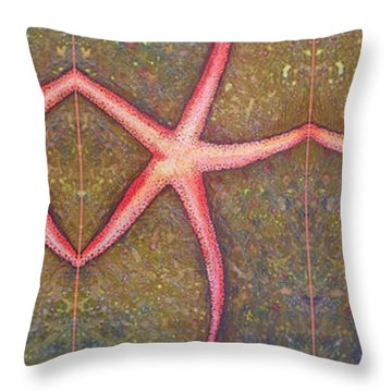 Starfish Pattern Bar Throw Pillow