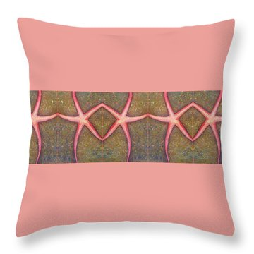Starfish Pattern Bar Throw Pillow